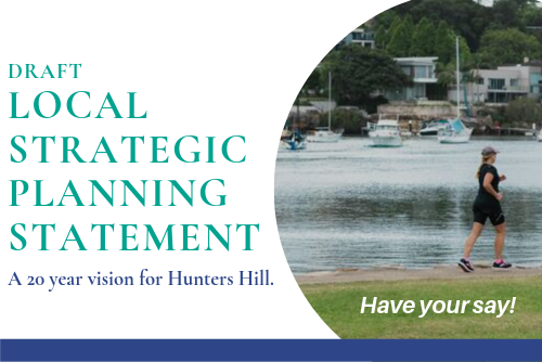 Draft Hunters Hill Local Strategic Planning Statement