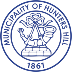 Hunter's Hill Council footer logo