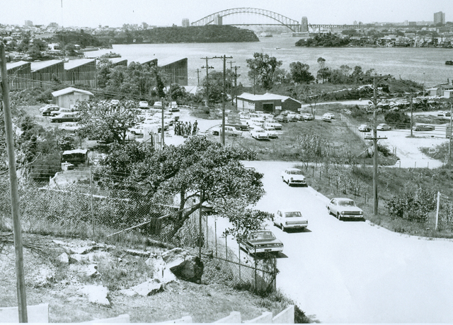 <h4>Clarkes Point</h4> <p>Clarkes Point looking east Oct1969</p>