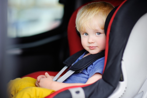 Child car seat safety check