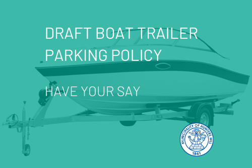 Draft Boat Trailer Parking Policy