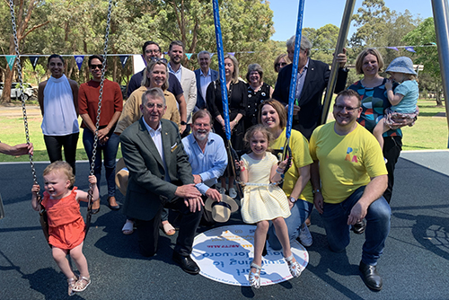 Play It Forward launched in Hunters Hill