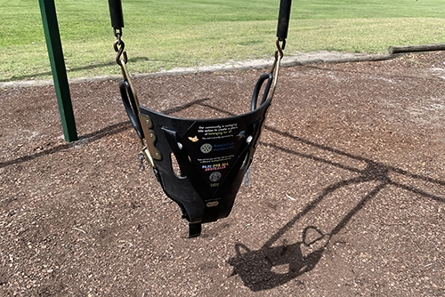 Inclusive swings installed
